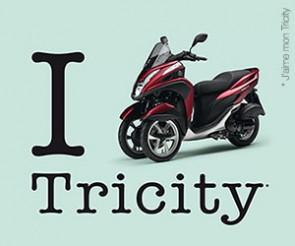 Votre Tricity à partir de 100 € TTC par mois en LOA